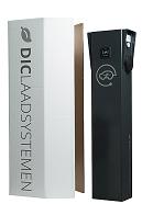 Laadzuil 2x11/22kw RFID DOM RAL 7021